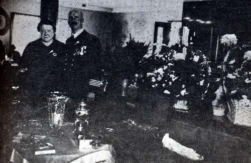 Kapitan Borkowski z żoną